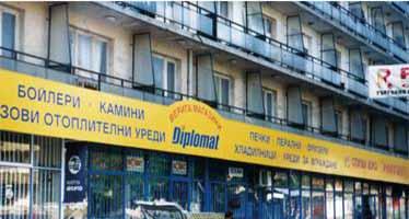 Външна реклама Diplomat