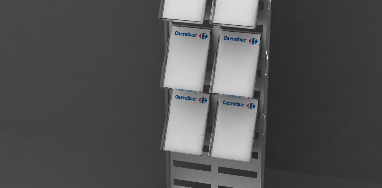 3D Щендер Carrefour