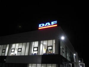 Външна реклама DAF