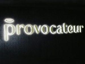 Светещ надпис Provocateur