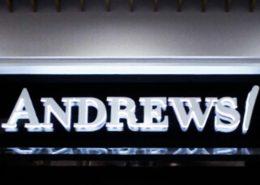 Светещи букви ANDREWS