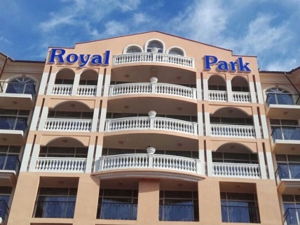 """Illuminated channel letters """"Royal Park"""""""