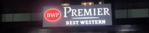 "Светещо лого ""BEST WESTERN"""