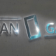 """Светещ надпис """"TITAN GATE"""""""