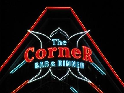 """Светещи обемни букви - """"The Corner"""""""