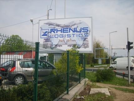 Светещ двустранен билборд