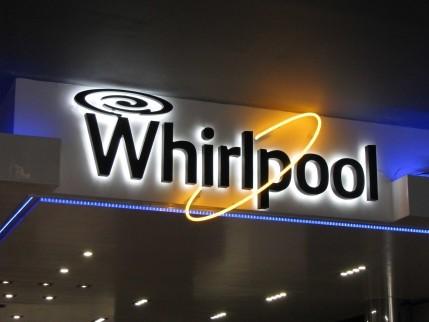 """Обемни букви - """"Whirlpool"""""""