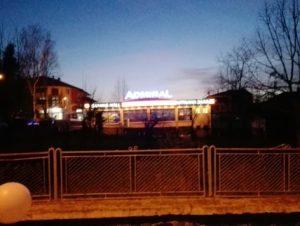 Светеща реклама Адмирал Казино - Кирково