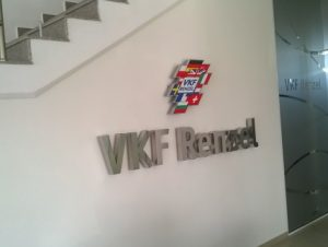 "Интериорно лого ""VKF Renzel"""