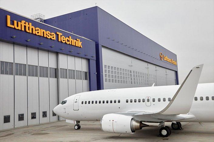 "Обемни букви ""Lufthansa"""