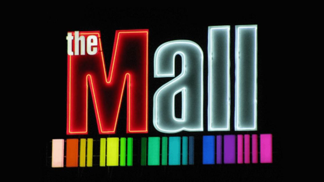Светещи обемни букви The Mall
