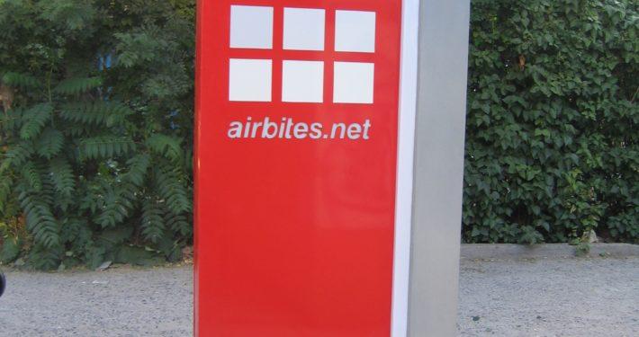 """Рекламен тотем - """"Airbites"""""""