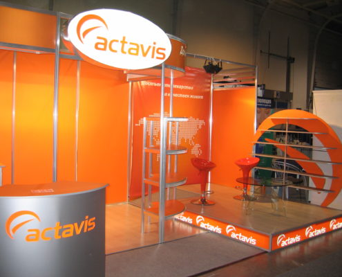 Изложбен щанд ACTAVIS