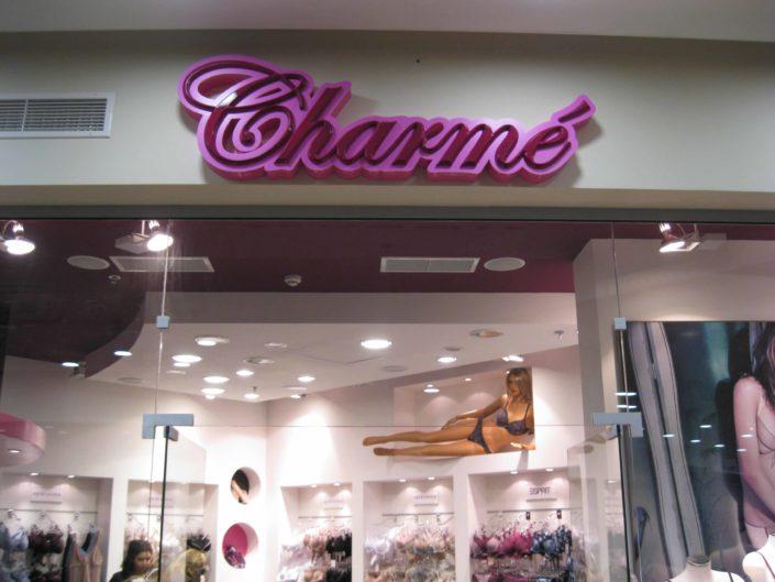 Светещи обемни букви Charme