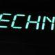 Обемни букви TECHNO