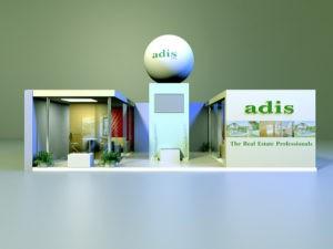 3D Изложбен щанд Адис
