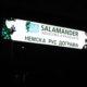 Светеща табела Salamander