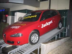 """Брандиране на автомобили - казино """"LUXOR"""""""