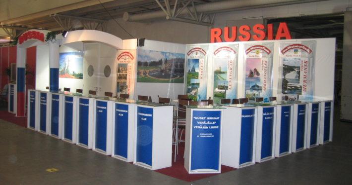 Изложбен щанд Russia – изложение Франкфурт, Германия