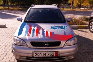 Брандиране на автомобили - Diplomat