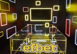 Интериорна реклама Ефбет