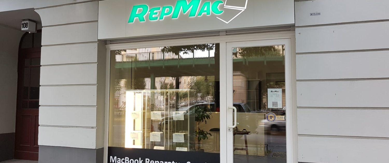 Светещ надпис RepMac