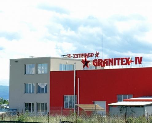 LED букви GRANITEX