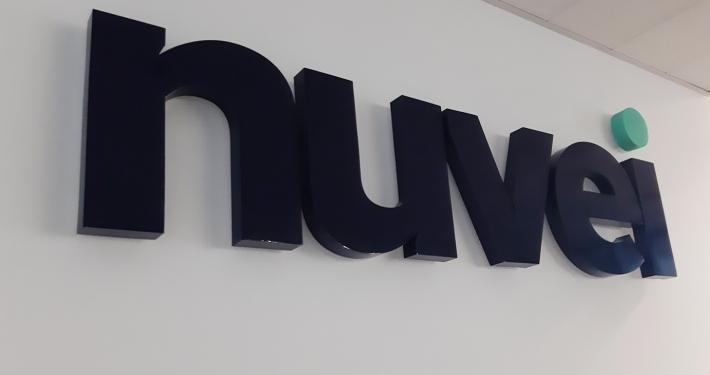обемни букви със задно осветление
