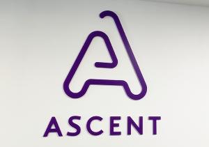 Интериорно лого Ascent