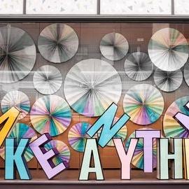 Обемни букви 5 - креативност